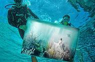 马尔代夫超现实主义水下艺术展