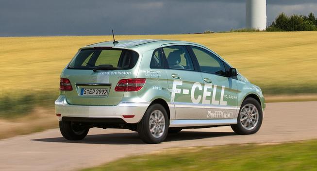 奔驰拟2017年推出新款氢燃料电池车