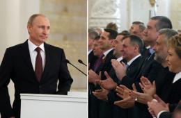 普京就克里米亚公投讲话