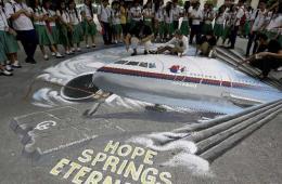 国外艺术家绘制马航370航班3D图为失联客机祈福