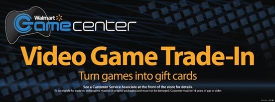 沃尔玛将提供二手游戏兑换礼品卡服务