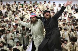 耶路撒冷犹太教徒化装庆祝普林节
