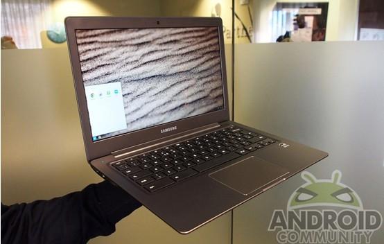 三星13.3英寸Chromebook2体验:皮革设计手感好