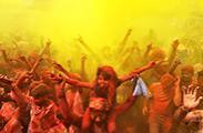 狂欢盛景 走进2014印度胡里节