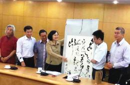 马航MH370航班上中国画家失联前最后留影