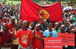 南非失业率高居世界第三 金属制造工人发起全国大罢工