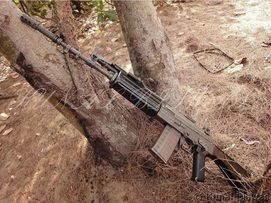 22口徑折疊步槍結構圖