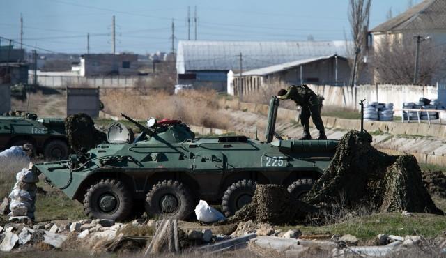 乌官方称克里米亚费奥多西亚海军基地被俄占领