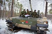 15国联合大军在挪威雪地开战