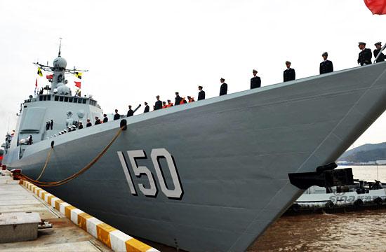 东海舰队旗舰加入最新护航编队