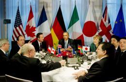 G7领导人磋商乌克兰局势 放弃索契G8峰会孤立俄罗斯