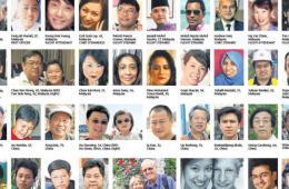 MH370遇难者生前照片