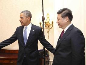习近平会见奥巴马