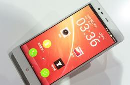 前置1300万像素 努比亚X6跨界手机发布