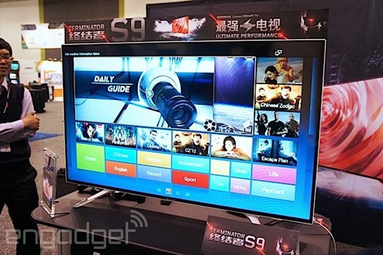 """联想推""""终结者""""S9智能电视 性能不俗"""