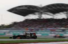 马航阴影笼罩F1马来西亚大奖赛 票房冷清