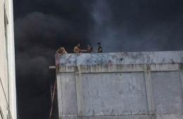 广东普宁一家庭作坊发生火灾 11人窒息死亡