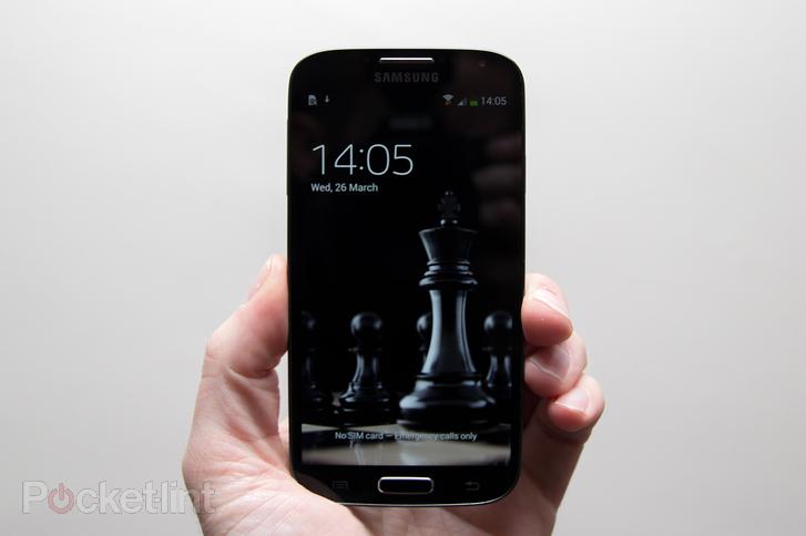 十足商务范儿 黑色版Galaxy S4多图赏