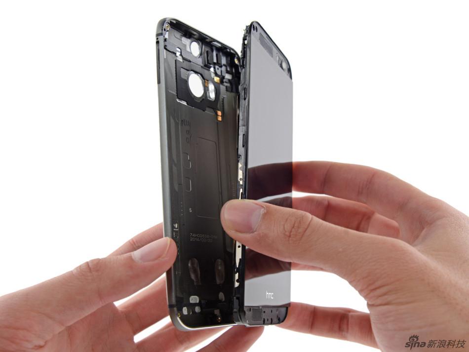 做工精湛难拆解 HTC One M8外媒拆解图集