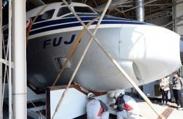 """日本首架喷气式客机""""空中贵妇人""""将被展出"""