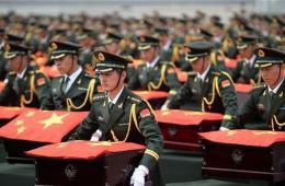 437具中国人民志愿军烈士遗骸魂归故里