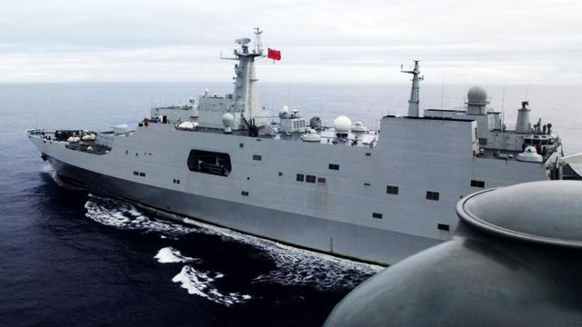 山舰抵达南印度洋新海区搜索马航客机.