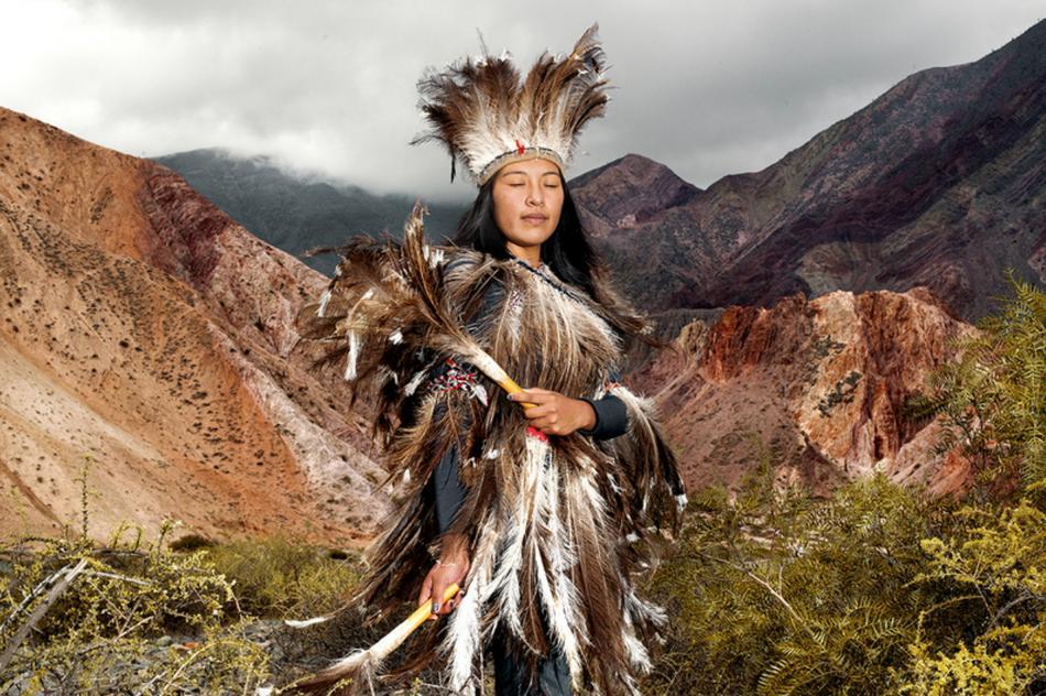 摄影师实拍阿根廷原住民的生活