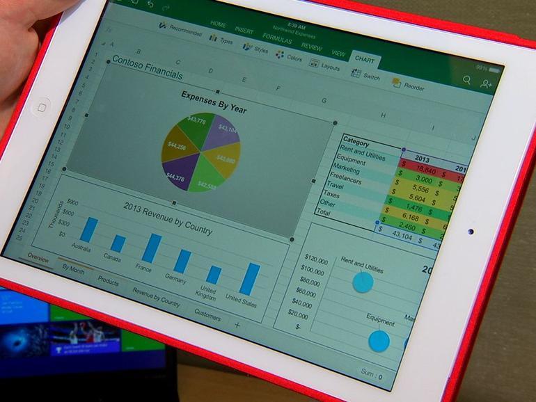 免费下载并查看Office 微软iPad版Office详解