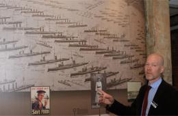 """英国启动纪念海军参加""""一战""""活动"""