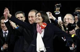 """法国地方选举结束 """"浪漫之都""""巴黎迎首位女市长"""