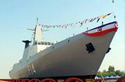缅甸国产隐身护卫舰时髦帅气