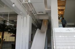 学谷歌整滑梯 14张图走进小米新办公楼
