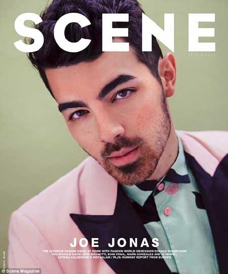 乔乔纳斯登《Scene》杂志封面