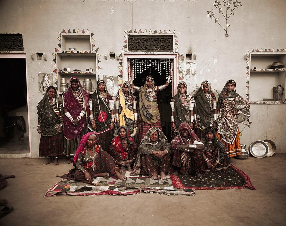 探访印度拉巴里族部落生活