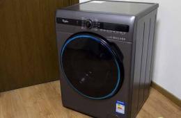 10kg超大容量 惠而浦新滚筒洗衣机图赏