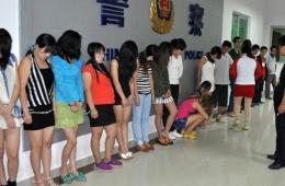 广东惠州警察捣毁两个卖淫团伙