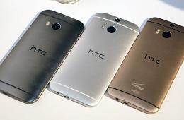 土豪金超薄四核旗舰机 HTC One M8图赏