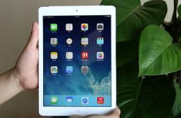 TD-LTE版iPad Air开箱图赏