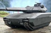 波兰隐身坦克外形科幻高大上