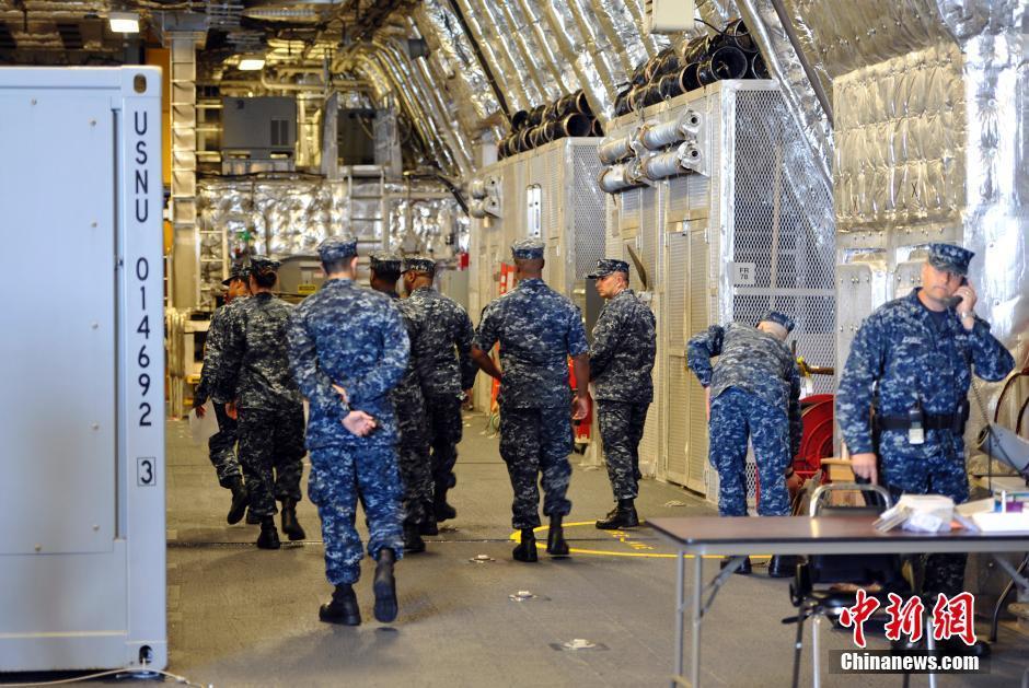 科罗纳多号濒海战斗舰内部