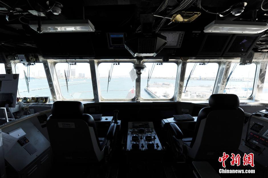 科罗纳多濒海战斗舰内部