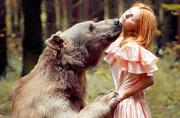 少女与猛兽:另类野性摄影