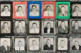 英男子数十年自拍450张照片记录衰老过程