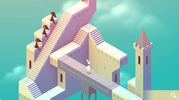 付费解谜游戏《纪念碑谷》如何一周内登上榜首?