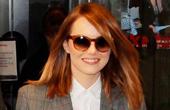艾玛·斯通4月9日伦敦街拍