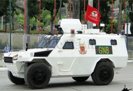 公开展示了从 中国 北方公司购买的vn-4防暴车