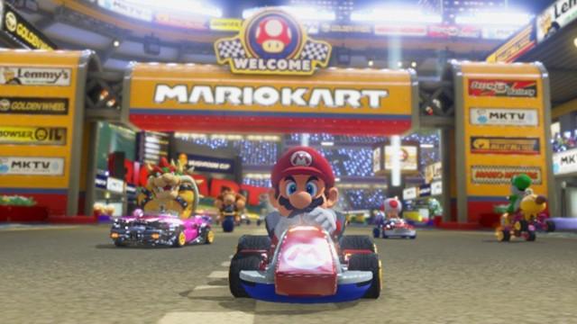 美媒:《马里奥赛车8》风格依旧 玩家喜爱不变