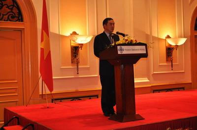 驻越南大使孔铉佑举行离任招待会 - 潘金娥 - 越南问题学术博客