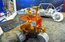 中国载人月球车亮相:整车可折叠