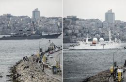 克里米亚入俄引紧张局势 美法军舰进入黑海